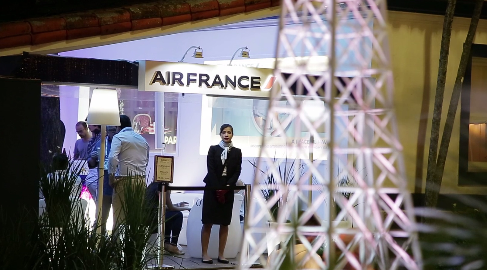 Air France goes to Rio